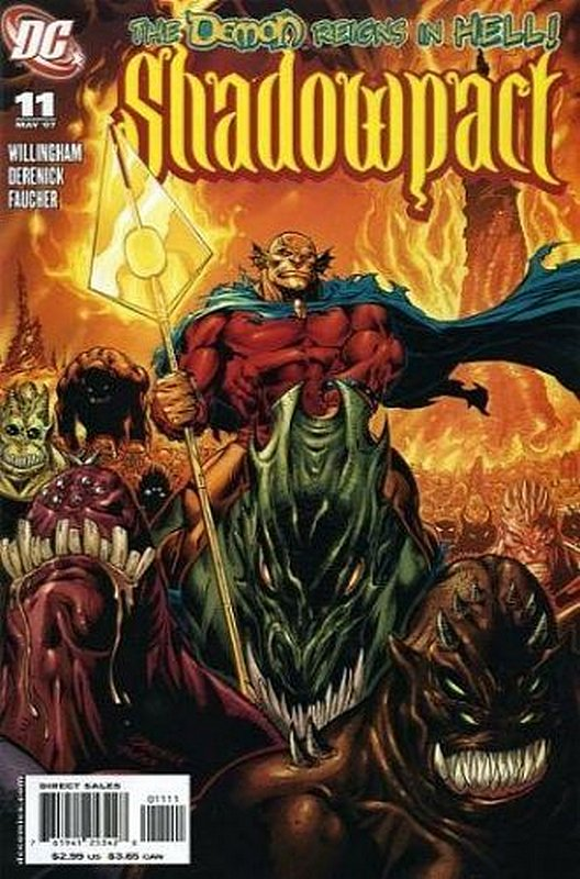 Cover of Shadowpact (Vol 1) #11. One of 250,000 Vintage American Comics on sale from Krypton!