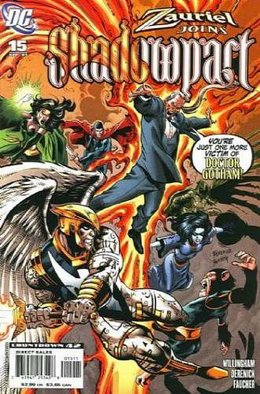 Cover of Shadowpact (Vol 1) #15. One of 250,000 Vintage American Comics on sale from Krypton!