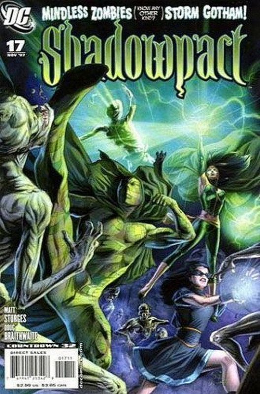 Cover of Shadowpact (Vol 1) #17. One of 250,000 Vintage American Comics on sale from Krypton!