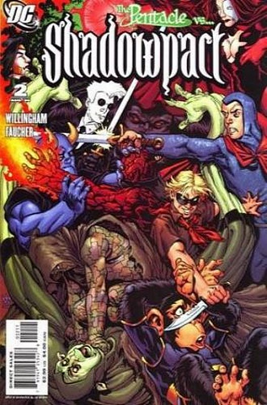 Cover of Shadowpact (Vol 1) #2. One of 250,000 Vintage American Comics on sale from Krypton!