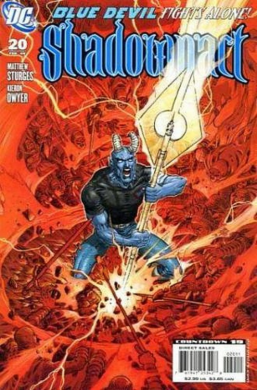 Cover of Shadowpact (Vol 1) #20. One of 250,000 Vintage American Comics on sale from Krypton!