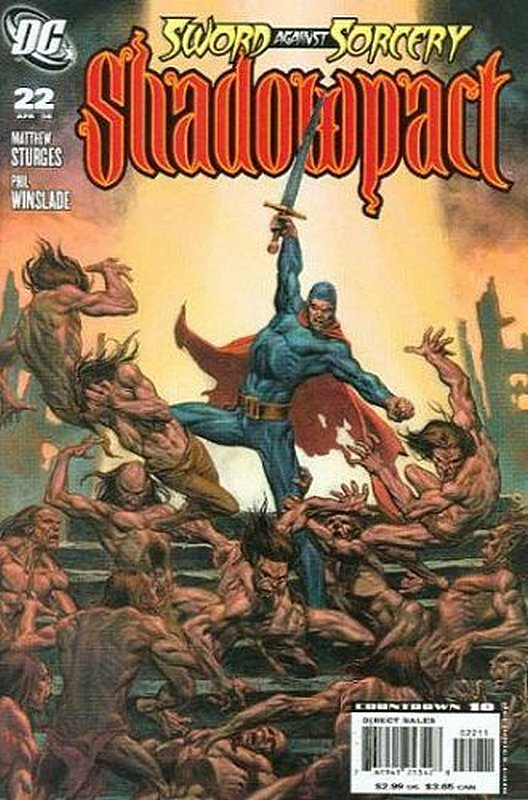Cover of Shadowpact (Vol 1) #22. One of 250,000 Vintage American Comics on sale from Krypton!