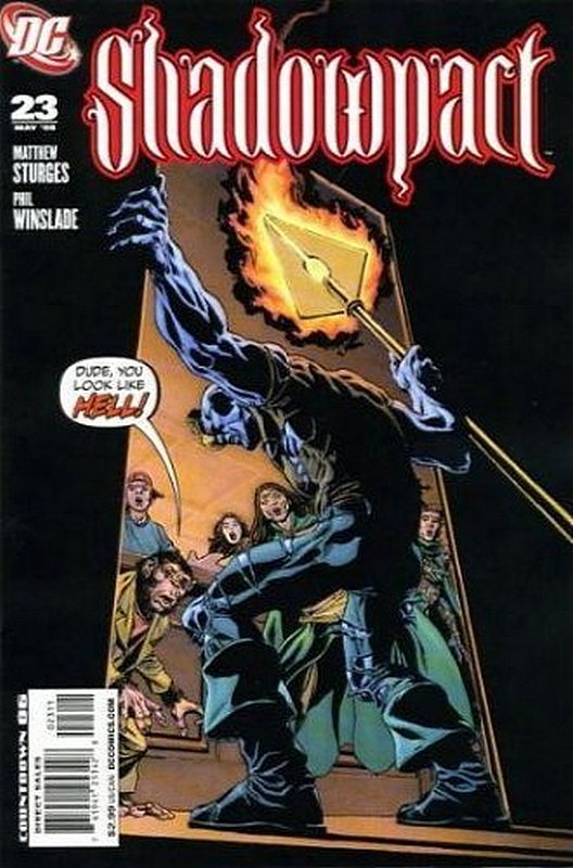 Cover of Shadowpact (Vol 1) #23. One of 250,000 Vintage American Comics on sale from Krypton!