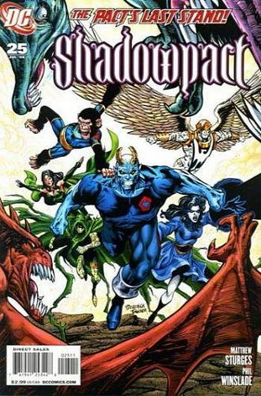 Cover of Shadowpact (Vol 1) #25. One of 250,000 Vintage American Comics on sale from Krypton!