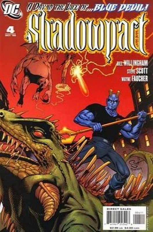 Cover of Shadowpact (Vol 1) #4. One of 250,000 Vintage American Comics on sale from Krypton!