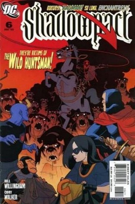 Cover of Shadowpact (Vol 1) #6. One of 250,000 Vintage American Comics on sale from Krypton!