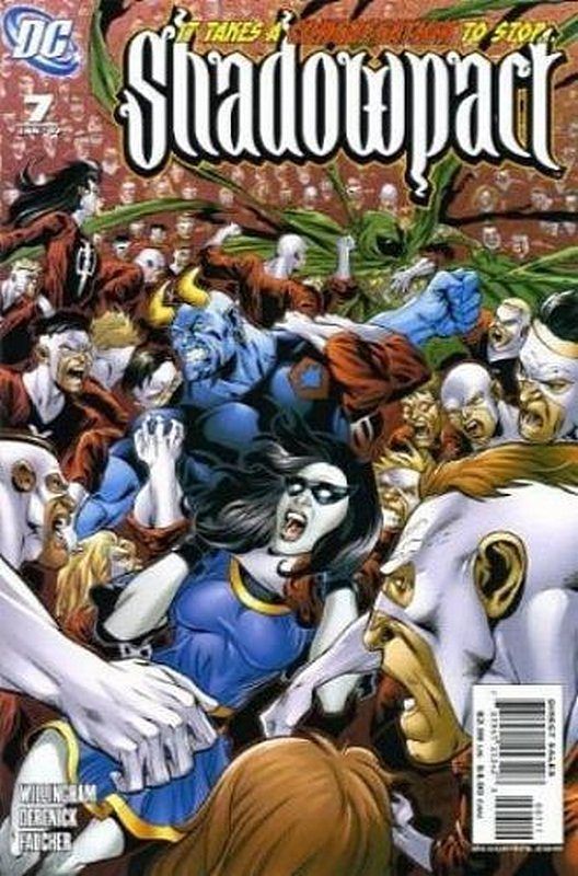 Cover of Shadowpact (Vol 1) #7. One of 250,000 Vintage American Comics on sale from Krypton!