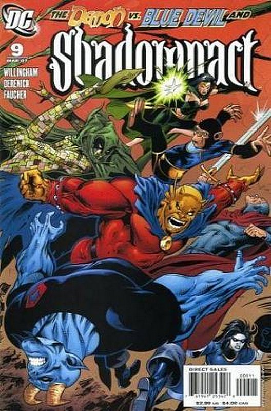 Cover of Shadowpact (Vol 1) #9. One of 250,000 Vintage American Comics on sale from Krypton!