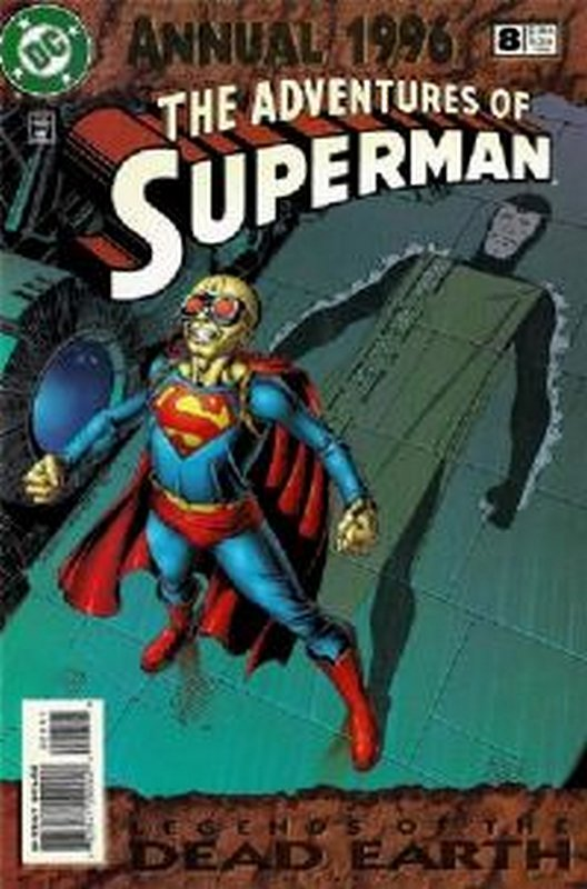 Cover of Adventures of Superman Annual #8. One of 250,000 Vintage American Comics on sale from Krypton!