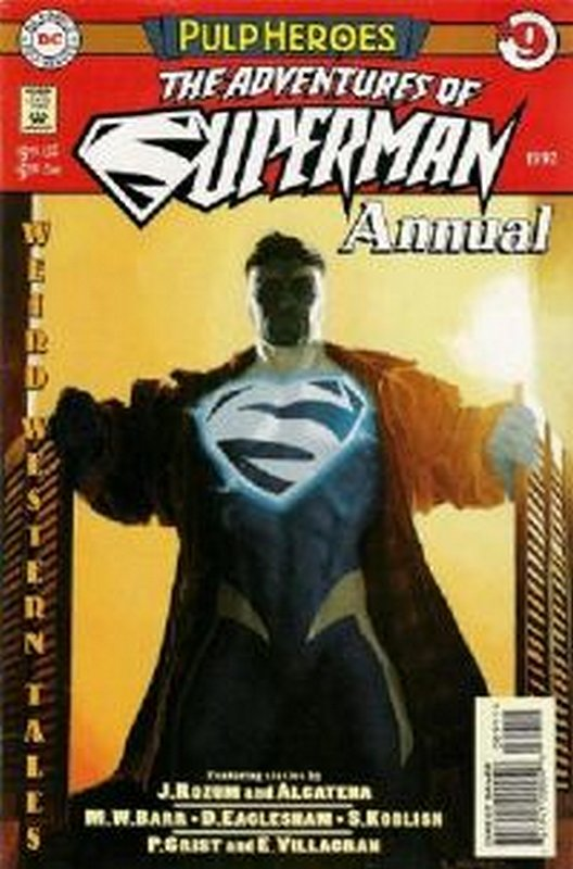 Cover of Adventures of Superman Annual #9. One of 250,000 Vintage American Comics on sale from Krypton!