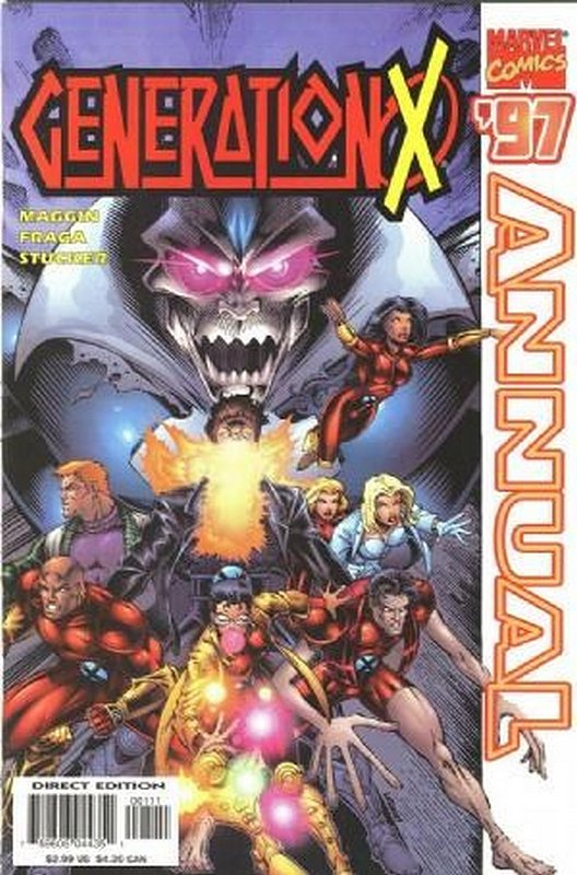 Cover of Generation X Annual #1997. One of 250,000 Vintage American Comics on sale from Krypton!