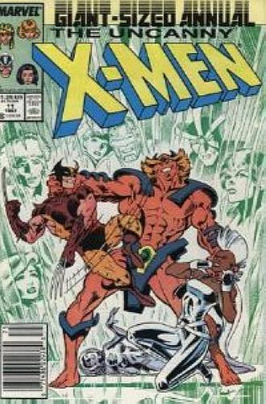 Cover of Uncanny X-Men Annual (Vol 1) #11. One of 250,000 Vintage American Comics on sale from Krypton!