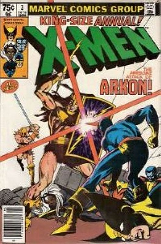 Cover of Uncanny X-Men Annual (Vol 1) #3. One of 250,000 Vintage American Comics on sale from Krypton!