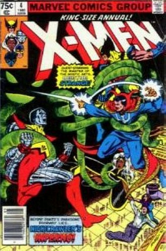 Cover of Uncanny X-Men Annual (Vol 1) #4. One of 250,000 Vintage American Comics on sale from Krypton!