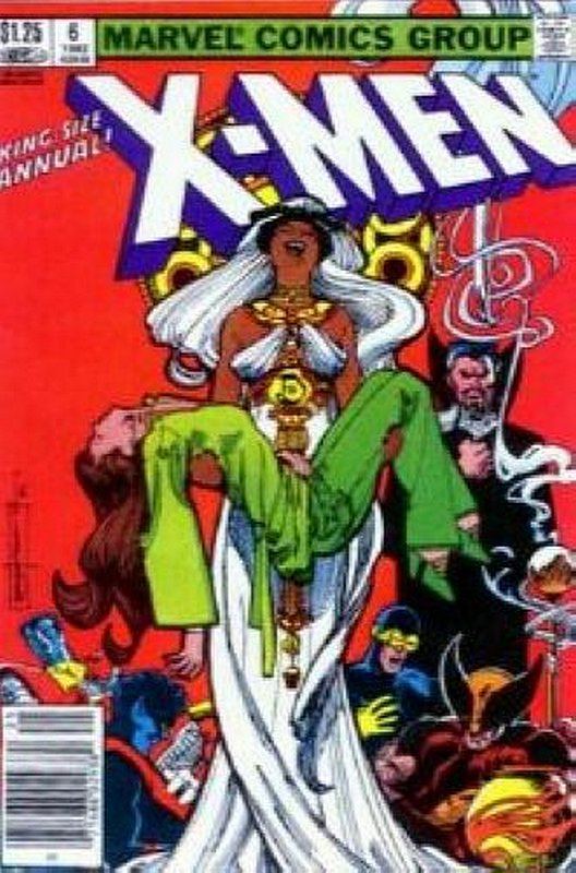 Cover of Uncanny X-Men Annual (Vol 1) #6. One of 250,000 Vintage American Comics on sale from Krypton!