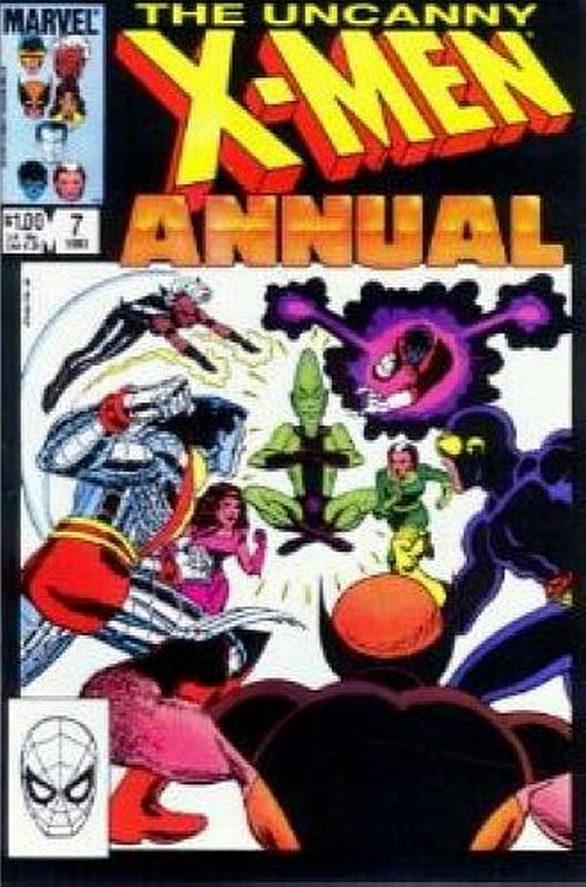 Cover of Uncanny X-Men Annual (Vol 1) #7. One of 250,000 Vintage American Comics on sale from Krypton!