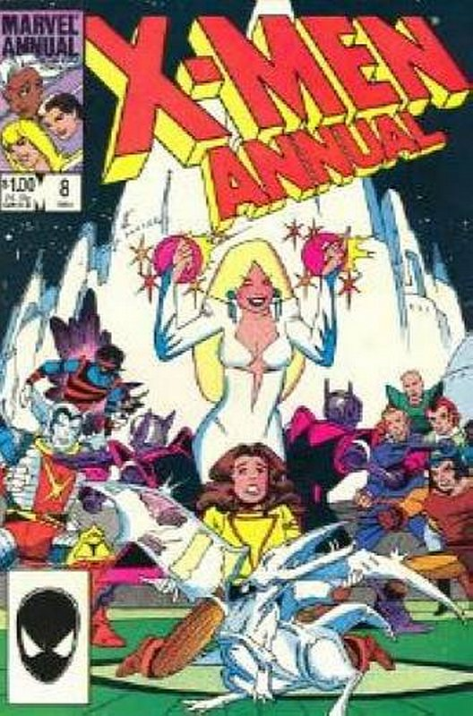 Cover of Uncanny X-Men Annual (Vol 1) #8. One of 250,000 Vintage American Comics on sale from Krypton!