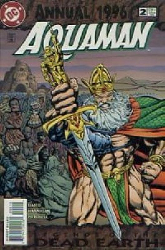 Cover of Aquaman Annual #2. One of 250,000 Vintage American Comics on sale from Krypton!