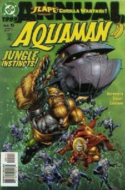 Cover of Aquaman Annual #5. One of 250,000 Vintage American Comics on sale from Krypton!