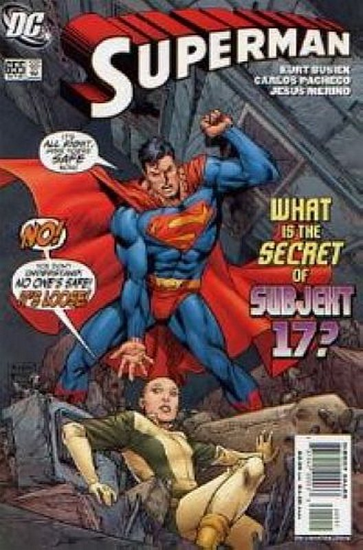 Cover of Superman (Vol 3) #655. One of 250,000 Vintage American Comics on sale from Krypton!