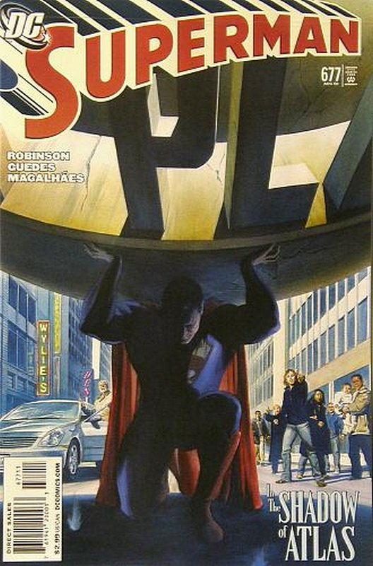 Cover of Superman (Vol 3) #677. One of 250,000 Vintage American Comics on sale from Krypton!