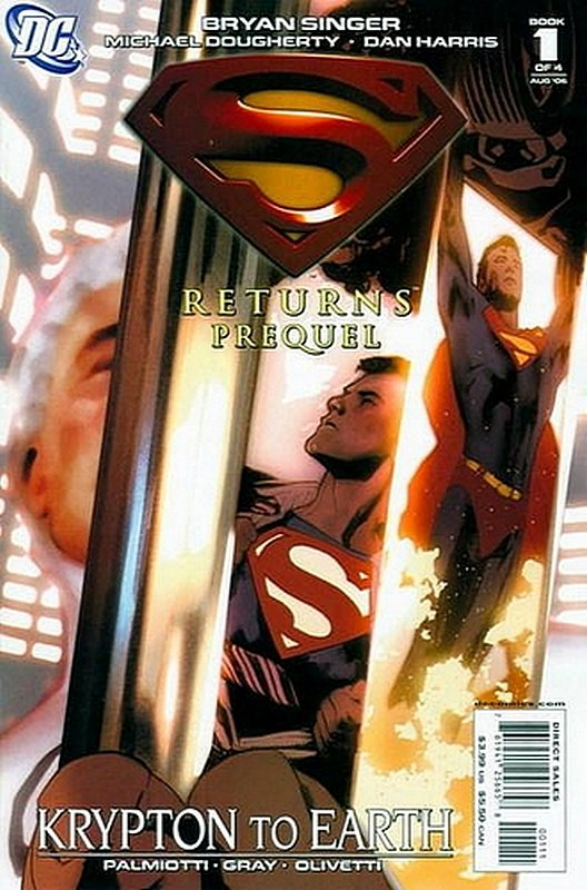 Cover of Superman Returns Prequel (2006 Ltd) #1. One of 250,000 Vintage American Comics on sale from Krypton!