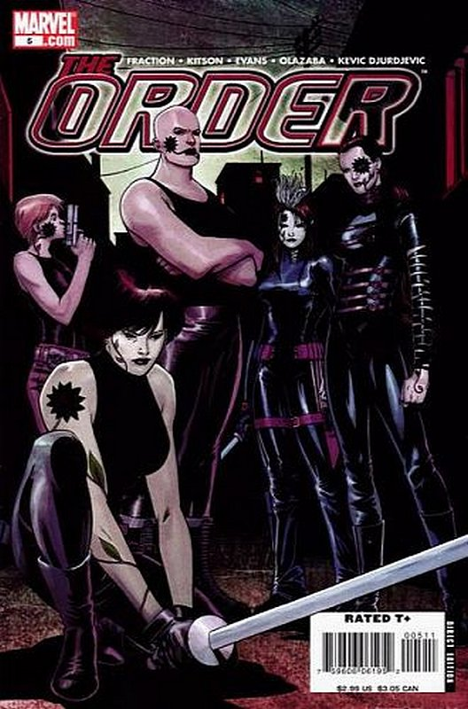 Cover of Order (Vol 2) The #5. One of 250,000 Vintage American Comics on sale from Krypton!