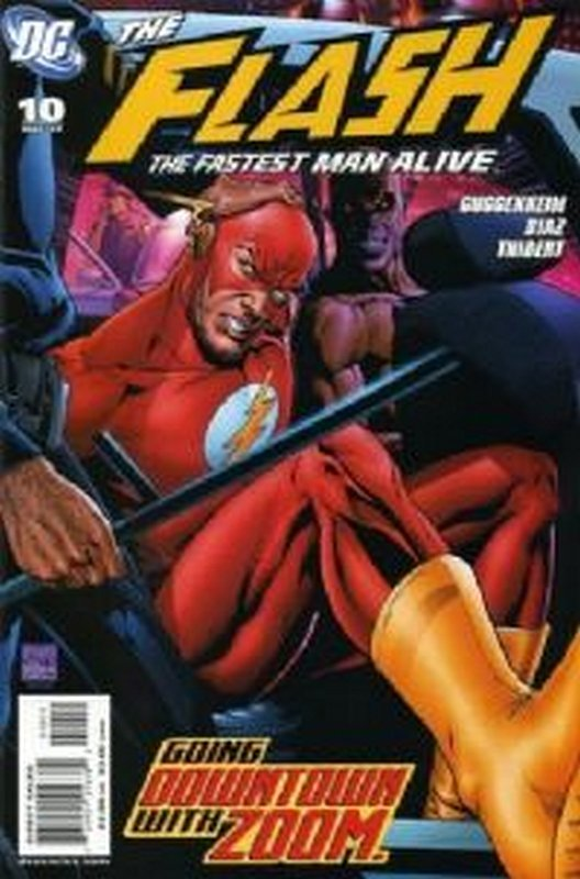 Cover of Flash (Vol 3) The Fastest Man Alive #10. One of 250,000 Vintage American Comics on sale from Krypton!