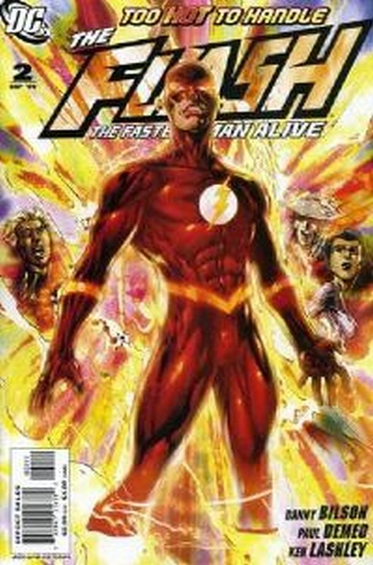 Cover of Flash (Vol 3) The Fastest Man Alive #2. One of 250,000 Vintage American Comics on sale from Krypton!