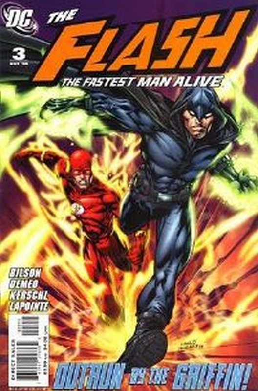 Cover of Flash (Vol 3) The Fastest Man Alive #3. One of 250,000 Vintage American Comics on sale from Krypton!