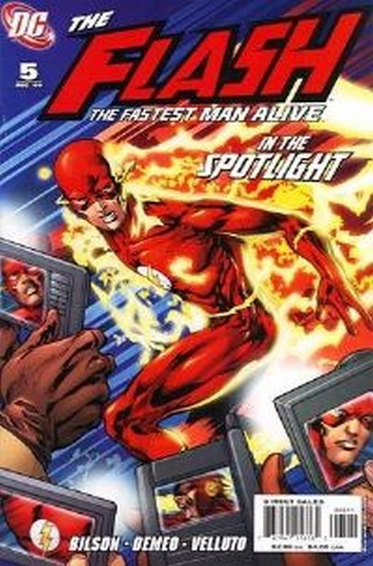 Cover of Flash (Vol 3) The Fastest Man Alive #5. One of 250,000 Vintage American Comics on sale from Krypton!