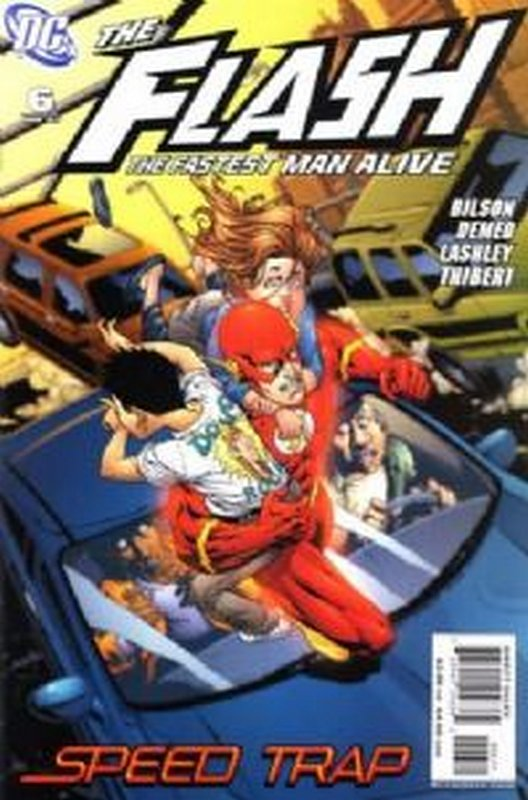 Cover of Flash (Vol 3) The Fastest Man Alive #6. One of 250,000 Vintage American Comics on sale from Krypton!