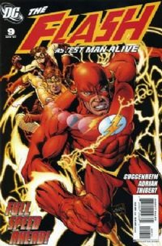 Cover of Flash (Vol 3) The Fastest Man Alive #9. One of 250,000 Vintage American Comics on sale from Krypton!