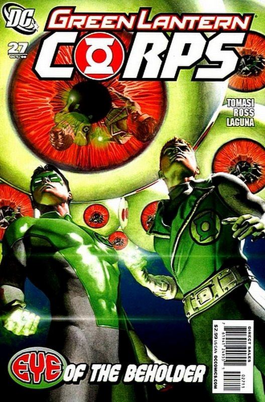 Cover of Green Lantern Corps (Vol 1) #27. One of 250,000 Vintage American Comics on sale from Krypton!