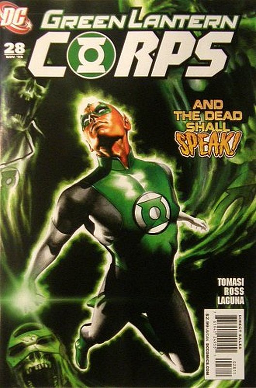 Cover of Green Lantern Corps (Vol 1) #28. One of 250,000 Vintage American Comics on sale from Krypton!