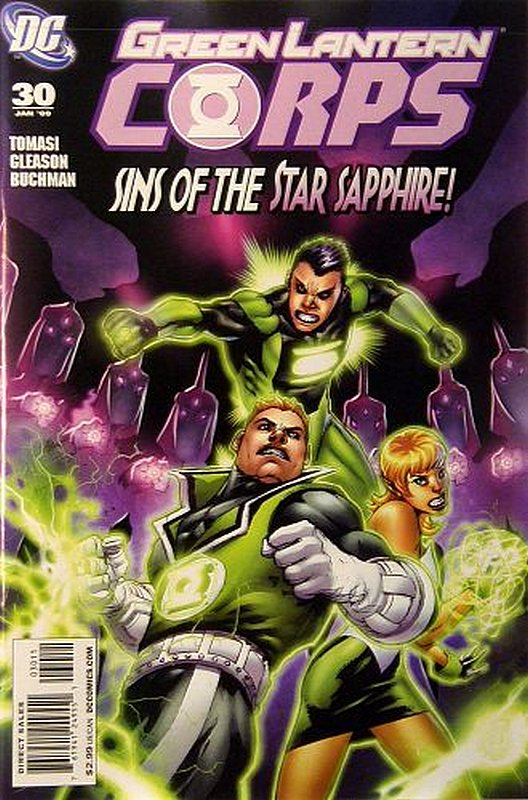 Cover of Green Lantern Corps (Vol 1) #30. One of 250,000 Vintage American Comics on sale from Krypton!
