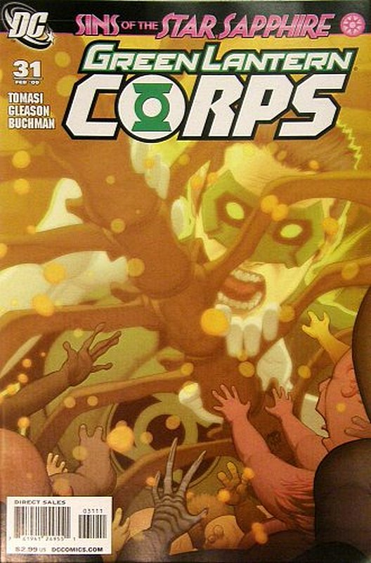 Cover of Green Lantern Corps (Vol 1) #31. One of 250,000 Vintage American Comics on sale from Krypton!
