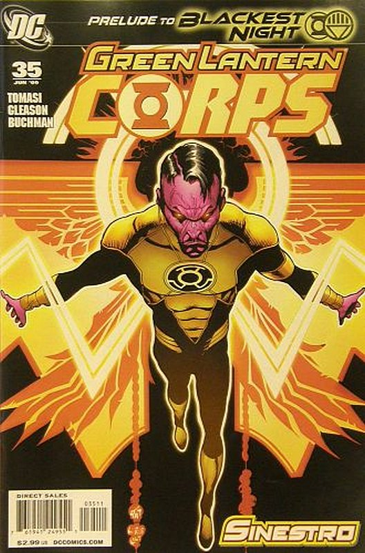 Cover of Green Lantern Corps (Vol 1) #35. One of 250,000 Vintage American Comics on sale from Krypton!