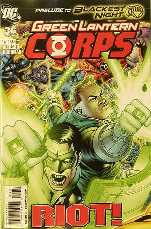 Cover of Green Lantern Corps (Vol 1) #36. One of 250,000 Vintage American Comics on sale from Krypton!