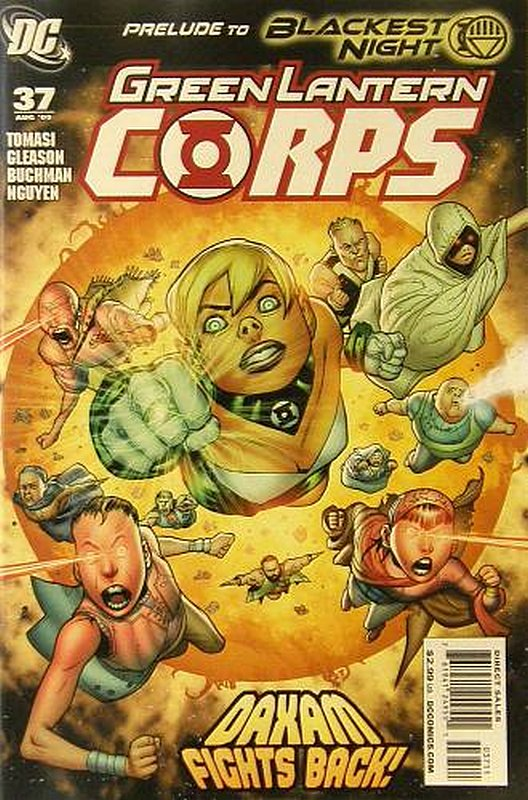 Cover of Green Lantern Corps (Vol 1) #37. One of 250,000 Vintage American Comics on sale from Krypton!