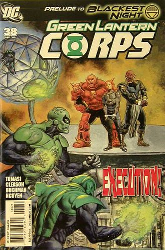 Cover of Green Lantern Corps (Vol 1) #38. One of 250,000 Vintage American Comics on sale from Krypton!