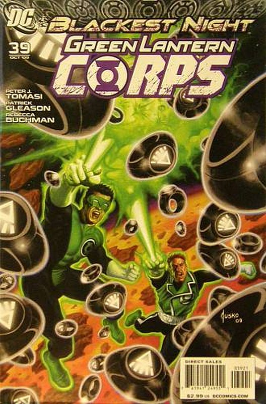 Cover of Green Lantern Corps (Vol 1) #39. One of 250,000 Vintage American Comics on sale from Krypton!