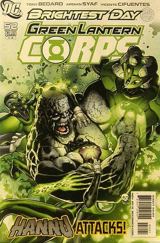 Cover of Green Lantern Corps (Vol 1) #52. One of 250,000 Vintage American Comics on sale from Krypton!