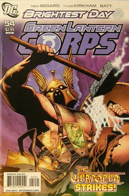 Cover of Green Lantern Corps (Vol 1) #54. One of 250,000 Vintage American Comics on sale from Krypton!