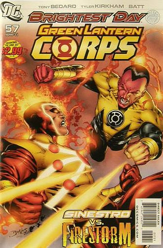 Cover of Green Lantern Corps (Vol 1) #57. One of 250,000 Vintage American Comics on sale from Krypton!