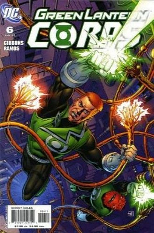 Cover of Green Lantern Corps (Vol 1) #6. One of 250,000 Vintage American Comics on sale from Krypton!
