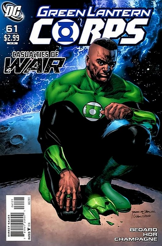 Cover of Green Lantern Corps (Vol 1) #61. One of 250,000 Vintage American Comics on sale from Krypton!