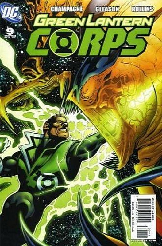 Cover of Green Lantern Corps (Vol 1) #9. One of 250,000 Vintage American Comics on sale from Krypton!