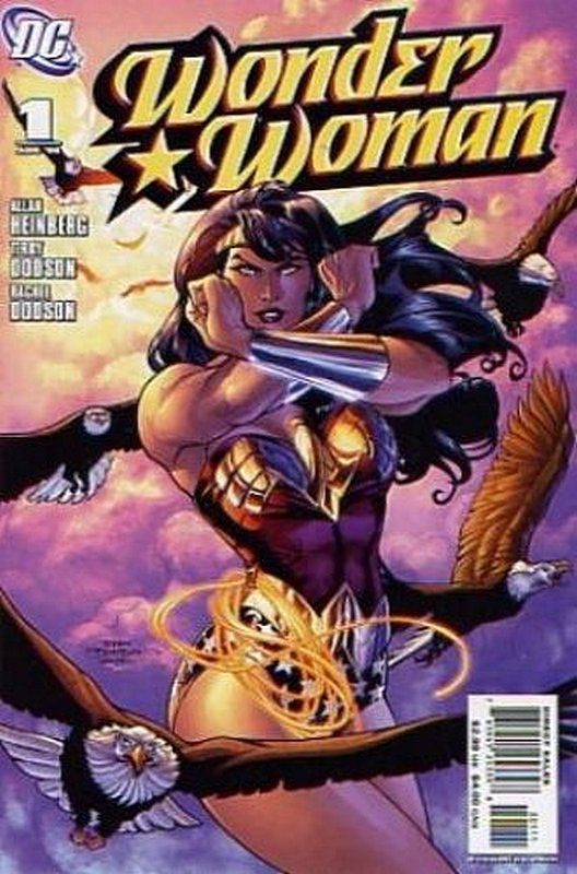 Cover of Wonder Woman (Vol 3) #1. One of 250,000 Vintage American Comics on sale from Krypton!