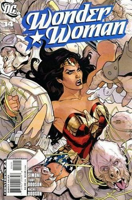 Cover of Wonder Woman (Vol 3) #14. One of 250,000 Vintage American Comics on sale from Krypton!